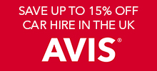 Get up to 15% off Avis Car Rental