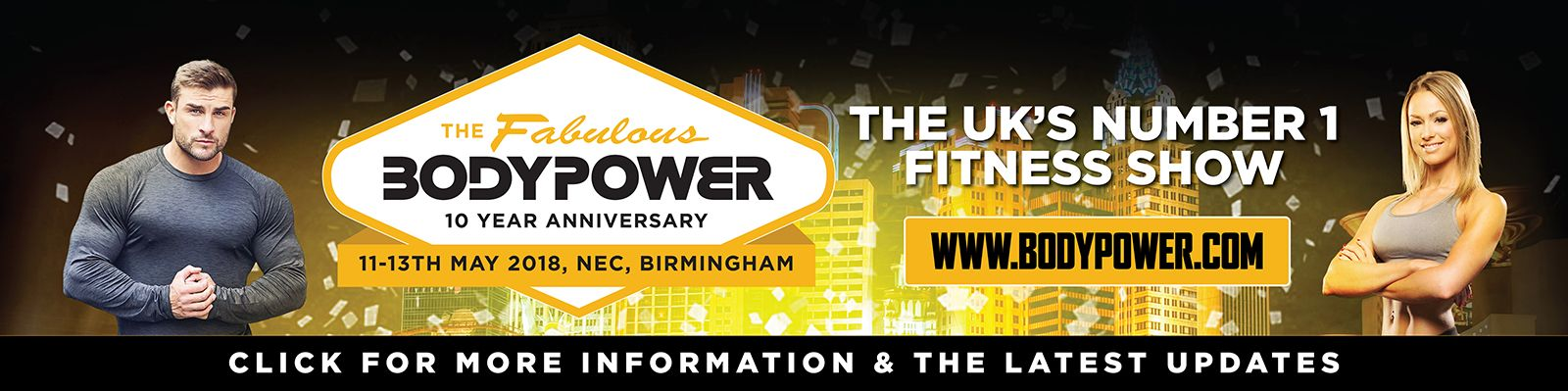 BodyPower - Pushing the boundaries of the body's power
