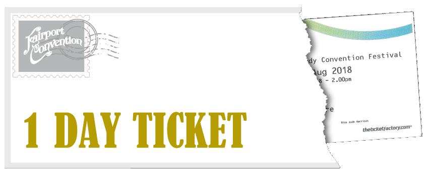 Fairport's Cropredy Convention Festival - 1 Day Ticket