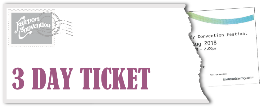 Fairport's Cropredy Convention Festival - 3 Day Ticket